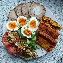Śniadania białkowo-tłuszczo...