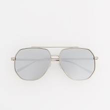 Okulary przeciwsłoneczne - Srebrny