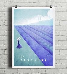 Prowansja - vintage plakat