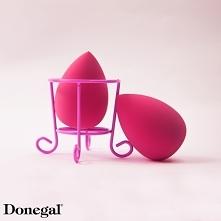 Stojak n gąbki do makijażu pozwala wygodnie, estetycznie i higienicznie przec...