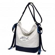 Biała torebka na ramię z bo...