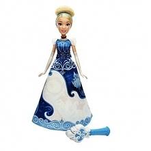 Lalka Księżniczki Disneya Magiczna Sukienka Kopciuszek B5299
