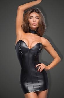 Noir F172 sukienka skórzana Niesamowicie kokieteryjna propozycja od marki Noi...