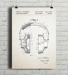 Słuchawki  - patent - plaka...