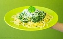 Spaghetti ze szpinakiem Prz...