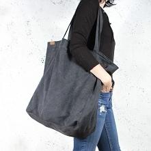 Big Lazy bag torba czarna n...