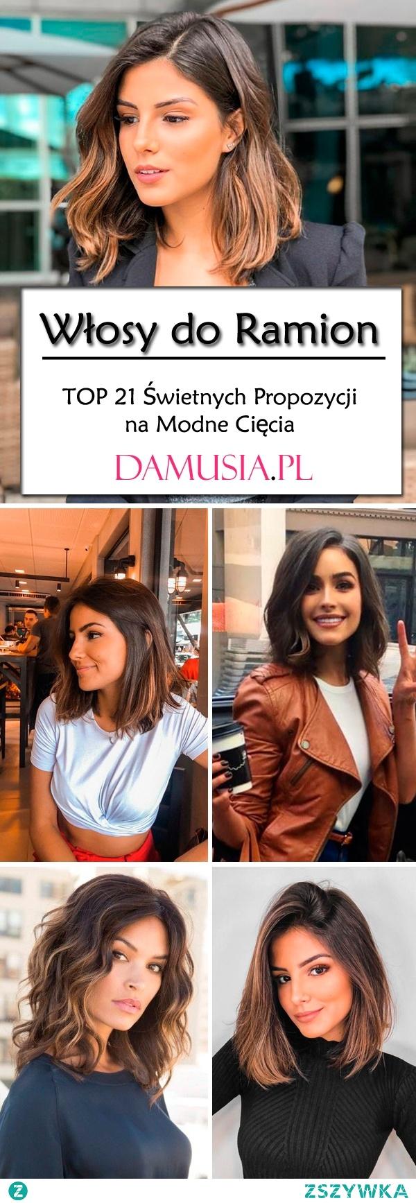 Modne Cięcia do Ramion – TOP 21 Świetnych Propozycji na Modne Włosy do Ramion