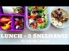 LUNCH BOX   ZDROWE 2 ŚNIADANIA DO SZKOŁY I PRACY   Healthy Omnomnom   Vegan