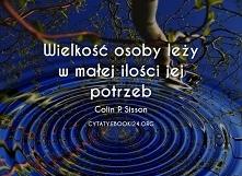 Colin P. Sisson cytat o wie...