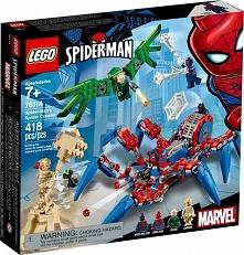 SUPER HEROES Mechaniczny pająk Spider-Mana 76114