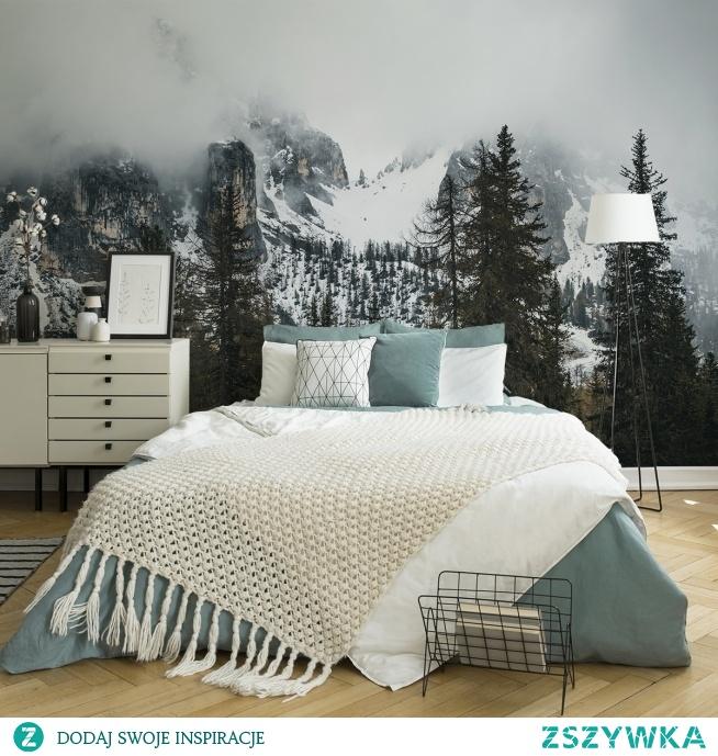 Podoba się Wam taka sypialnia? (fototapeta - myloview.pl)