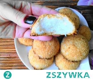 Szybkie Kokosanki,przygotujesz je dosłownie w 10 min. a potrzebujesz tylko 3 składniki :-)