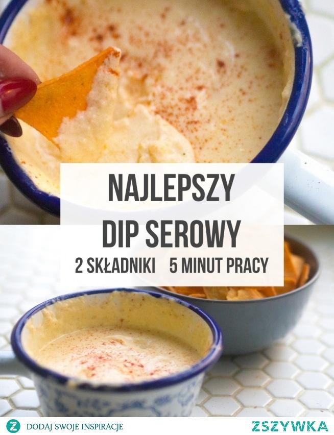 Pyszny dip serowy