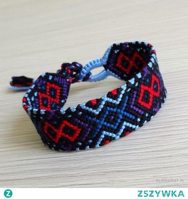"friendship bracelet ""geometric"""