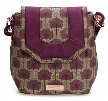 Tamaris Damski Plecak Fiorella Backpack 2924182-544 Bordeaux Comb