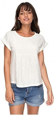 Roxy Ladies T-Shirt Cloud Discover Marshmallow erjkt03363-wbt0 (Rozmiar M)