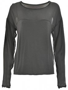 Deha Ladies T-Shirt Z Długim Rękawem T-Shirt d63350 Żelazko Szary (Rozmiar Xl)