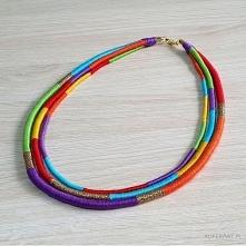 Neo-etno naszyjnik masajka unikatowy i bardzo energetyczny!