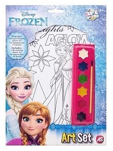 Kolorowanki Frozen to zestaw małego artysty. Baw się z Elzą, Anną i Olafem!