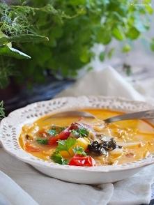 Zupa warzywna z kiełbasą / ...