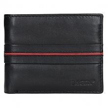 Lagen Portfel Skórzany Męski 3905 Black / Red