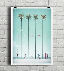 Miami - vintage plakat