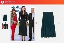 Rania al-Abd Allah w spodni...