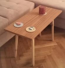 odnowiony PRL-owski stolik ...