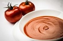 Gładki krem z pomidorów