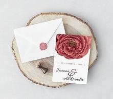 Piękne i nowoczesne zaproszenia jednokartkowe *_*