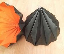 Abażur klosz Origami Black/...