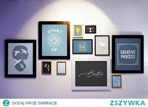 Kilka obrazów na ścianie, a jaki efekt :) Jeśli chcesz mieć u siebie takie lub podobne to zapraszam.
