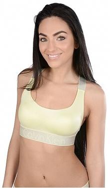 Calvin Klein Sport Ovni Biustonosz qf4053e Do 2 Bralette Agnes Yellow (Rozmia...