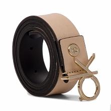 Pasek Damski CALVIN KLEIN - 3Cm Low Ck Adj.Buckle Belt K60K605155 064