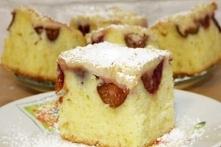 Ciasto w 5 min ze śliwkami