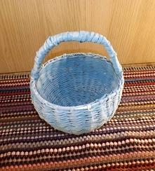 Koszyk niebieski