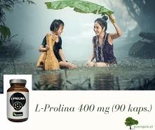 L-prolina - zadbaj o swoją skórę i stawy. Odżywki zawierające w swoim składzie aminokwas l-prolinę są innowacyjnymi suplementami polecanymi w głównej mierze sportowcom trenujący...