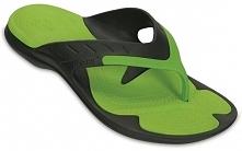 Crocs Japonki Męskie Modi Sport Flip Graphite/Volt Green m10/w12 (43,5)