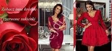 Czerwone sukienki na walent...