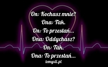 Kochasz mnie?!  mojecytatki...