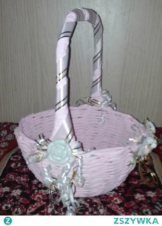Koszyk na różowo