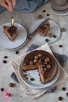 Sernik czekoladowy - Najlepszy przepis - Wypieki Beaty