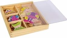 Puzzle dla dzieci - ubierz Ramonę uniw
