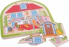 Dom Rodzinny - Puzzle dla dzieci uniw