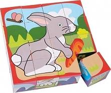 Puzzle dla dzieci Zwierzęta domowe uniw