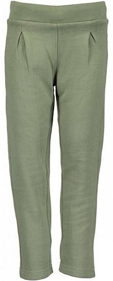 Blue Seven Spodnie Dresowe Dziewczęce 128 Zielone
