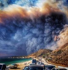 Pożar w Malibu