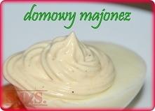 Domowy majonez zrobiony jed...