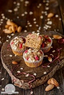 Bezglutenowe muffiny owsian...