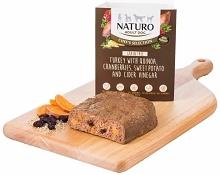 Naturo Adult Dog Chef's Selection tacka dla psa Grain Free indyk z komosą ryżową, żurawiną i batatami 400g - aktualnie na promocji!